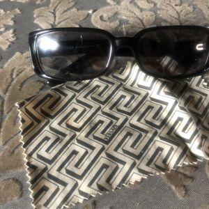 Versace black sunglasses